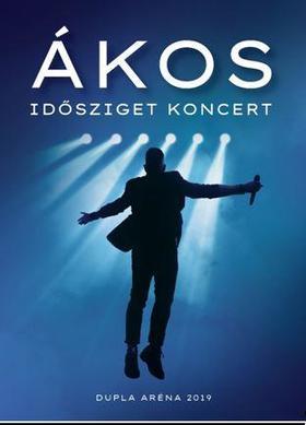 Ákos - IDŐSZIGET KONCERT (DUPLA ARÉNA 2019) - DUPLA DVD