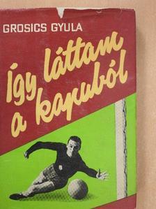 Grosics Gyula - Így láttam a kapuból [antikvár]