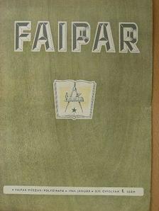 Arató István - Faipar 1964. január-december [antikvár]