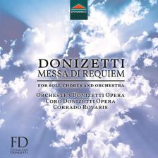 DONIZETTI - MESSA DI REQUIEM CD CORRADO ROVARIS