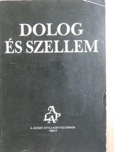 E. Román Katalin - Dolog és Szellem 1989/2 [antikvár]