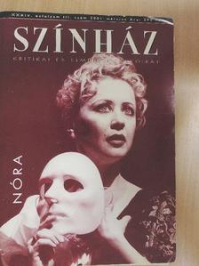 Csáki Judit - Színház 2001. március [antikvár]