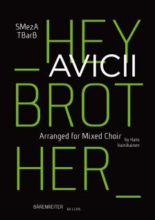 HEY BROTHER. S MEZ A T BAR B (ARR. FOR MIXED CHOIR)