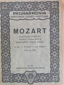 Mozart - Klavierkonzert [antikvár]