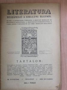 Dr. Katona Jenő - Literatura 1932. december [antikvár]