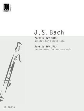 J. S. Bach - PARTITA BWV 1013 GESETZT FÜR FAGOTT SOLO VON WILLIAM WATERHOUSE