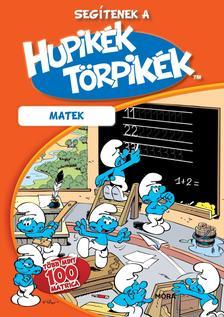 Segítenek a Hupikék Törpikék - Számolás matricás foglalkoztató