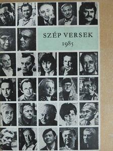 Ágh István - Szép versek 1985 [antikvár]