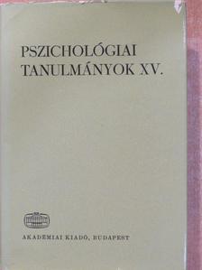 Kardos Lajos - Pszichológiai tanulmányok XV. [antikvár]