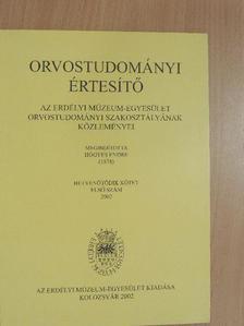 Dóczi Tamás - Orvostudományi értesítő 2002/1. [antikvár]