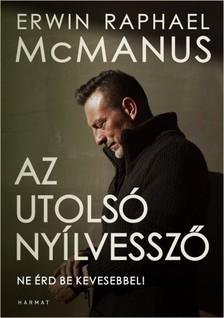 McManus Erwin R. - Az utolsó nyílvessző [eKönyv: epub, mobi]