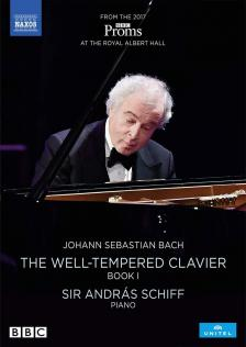 Bach - THE WELL-TEMPERED CLAVIER I DVD  SCHIFF