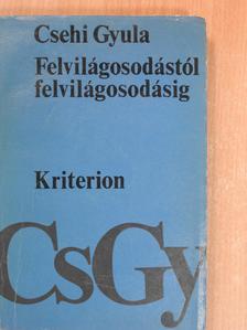 Csehi Gyula - Felvilágosodástól felvilágosodásig [antikvár]