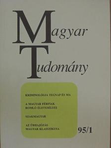 Almár Iván - Magyar Tudomány 1995. január [antikvár]