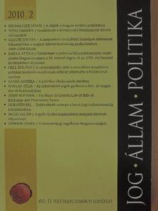 Barna Attila - Jog-Állam-Politika 2010/2. [antikvár]