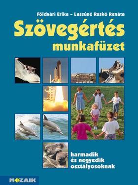 FÖLDVÁRI ERIKA, LASSÚNÉ RUSKÓ RENÁTA - MS-2547 Szövegértés feladatgyűjtemény 3-4.o.