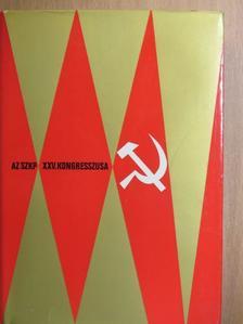Aarne Saarinen - Az SZKP XXV. kongresszusa [antikvár]