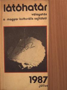 Bella István - Látóhatár 1987. július [antikvár]