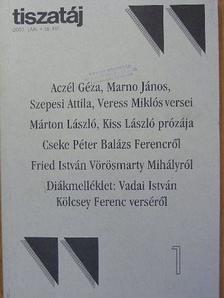 Ágh István - Tiszatáj 2002. (nem teljes évfolyam) [antikvár]