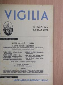 Baráth Ferenc - Vigilia 1941. március [antikvár]