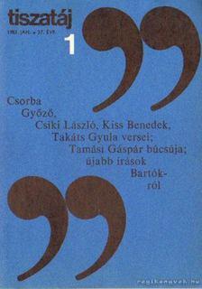 Vörös László - Tiszatáj 1983. január 37. évf. 1. [antikvár]