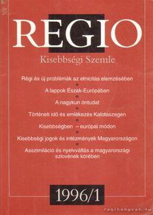 FEJŐS ZOLTÁN - Regio 7. évf. 1. szám [antikvár]