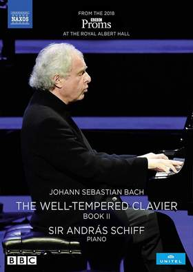 Bach - THE WELL-TEMPERED CLAVIER II DVD SCHIFF
