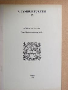 Móró Mária Anna - Nagy Sándor oroszországi levele [antikvár]