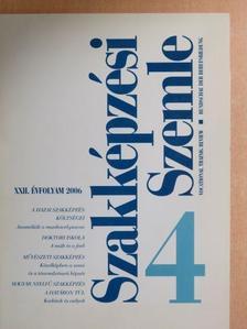 Balassa Endre - Szakképzési Szemle 2006/4. [antikvár]