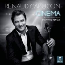 MORRICONE, WILLIAMS, KORNGOLD, LÉGRAND - CINÉMA CD RENAUD CAPUCON