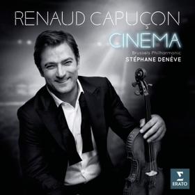 MORRICONE, WILLIAMS, KORNGOLD, LÉGRAND - CINÉMA CD RENAUD CAPUCON