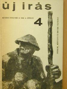 Ágh István - Új Írás 1966. április [antikvár]
