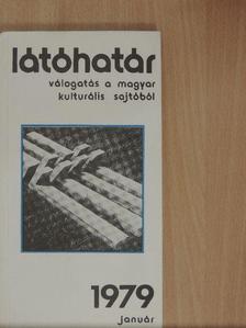 Benkő Loránd - Látóhatár 1979. január [antikvár]