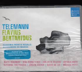 TELEMANN - FLAVIUS BERTARIDUS 3CD - DE MARCHI -