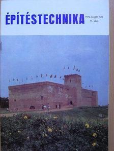 Denke László - Építéstechnika 1974/11. [antikvár]