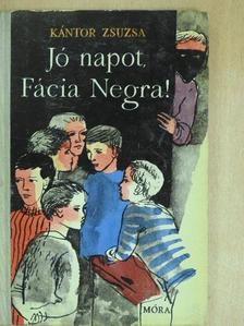 Kántor Zsuzsa - Jó napot, Fácia Negra!/Portyázó Tigrisek [antikvár]