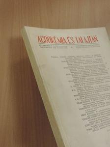 A. Agboola - Agrokémia és talajtan 1970/1-4. [antikvár]