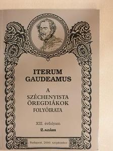 Baumholczer Tamás - Iterum Gaudeamus 2000. szeptember [antikvár]