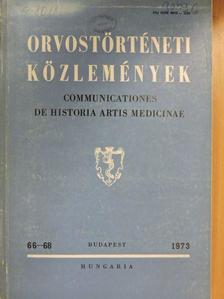 Bánó Marianna - Orvostörténeti közlemények 66-68. [antikvár]