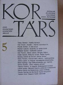 Alexa Károly - Kortárs 1990. május [antikvár]
