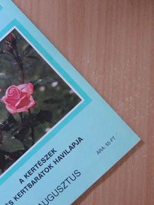 Dr. Szent-Miklóssy Ferenc - Kerti Kalendárium 1994. augusztus [antikvár]