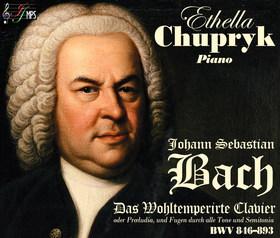 Bach - DAS WOHLTEMPERIERTE CLAVIER BWV 846-893 4CD CSUPRIK ETELKA (ETHELLA CHUPRYK)