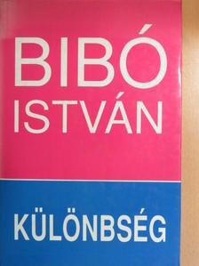 Bibó István - Különbség [antikvár]