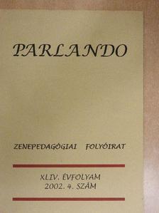 Bónis Ferenc - Parlando 2002/4. [antikvár]