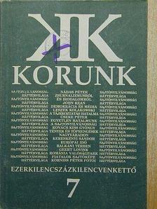 Beke György - Korunk 1992. július [antikvár]