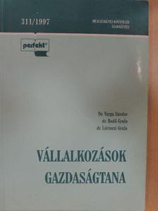 Dr. Bedő Gyula - Vállalkozások gazdaságtana [antikvár]