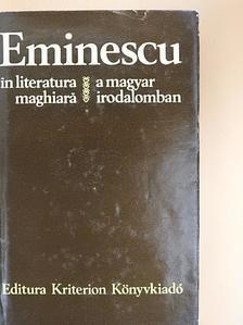 Áprily Lajos - Eminescu a magyar irodalomban [antikvár]