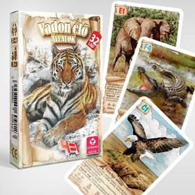 CartaCo kft - 4 az 1-ben / Vadon élő állatok kártya