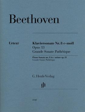 BEETHOVEN - KLAVIERSONATE NR.8 e-MOLL LOP.13. GRANDE SONATE PATHÉTIQUE