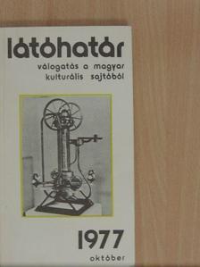 Aczél György - Látóhatár 1977. október [antikvár]